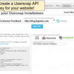 Set up your Usersnap account