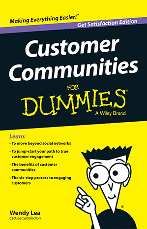 Customer Communities for Dummies by Wendy Lea