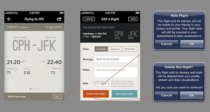 The Flying App in the making