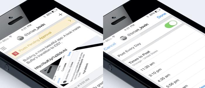 Buffer iOS7