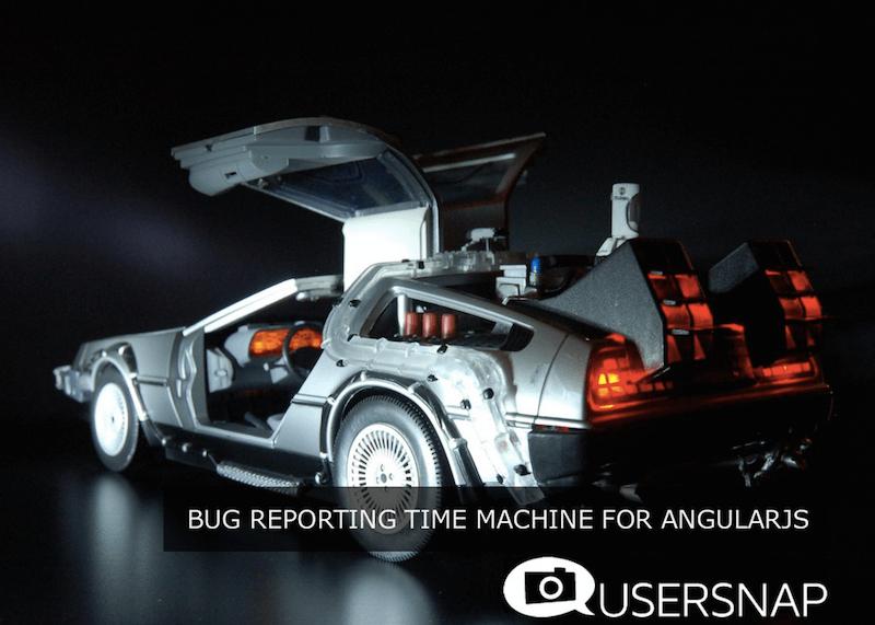 "Usersnap at AngularJS Meetup - ""The Bug Reporting Time Machine for AngularJS"" | Usersnap Blog"