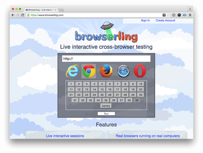 Browser Testing with Browserling