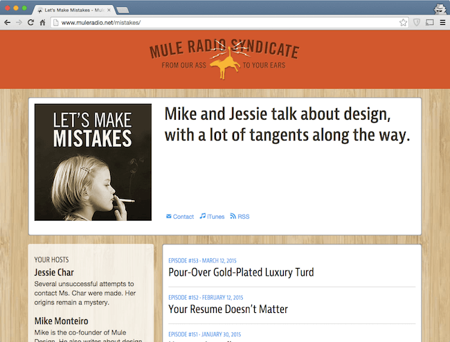 let's make mistakes podcast