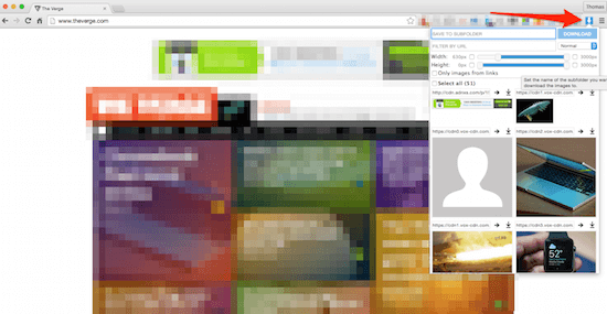 image downloader chrome extensions for developers