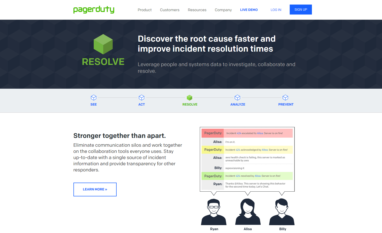 PagerDuty incident management