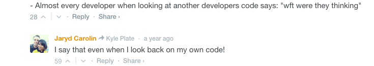 what no one tells you about web development