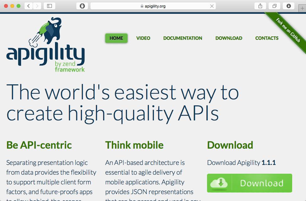 apigility toolkit web development