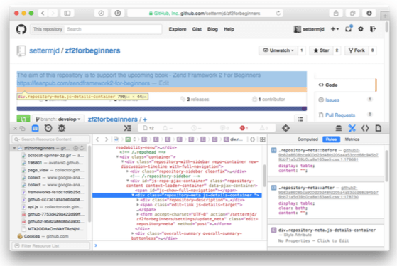 browser dev tools for perfect toolkit for web dev