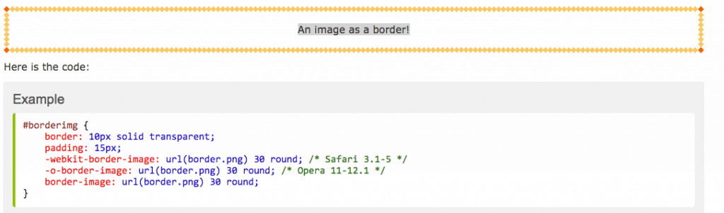 css3 border image property example