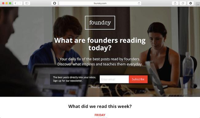 foundy newsletter