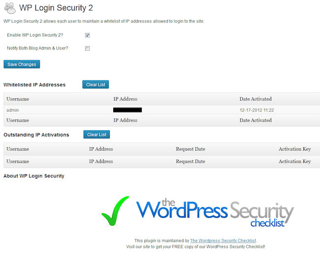 wp login security 2 wordpress plugin for wordpress developers