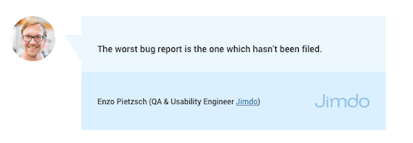 bad bug reports examples