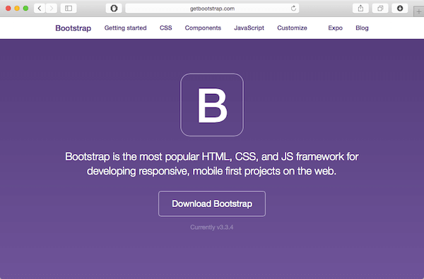 design in the browser with bootstrap