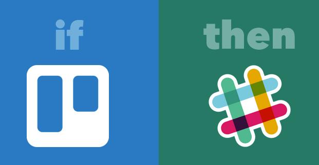 trello and slack integration for developers