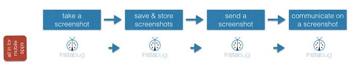 instabug screenshot tool