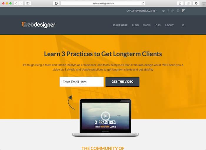 1st web designer blog