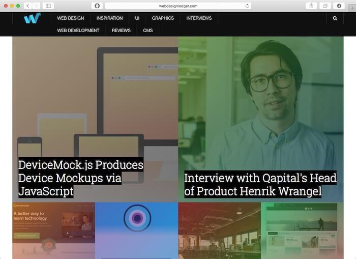 webdesignledger web design blog