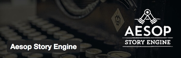 aesop story engine wordpress plugin for web developers and designers