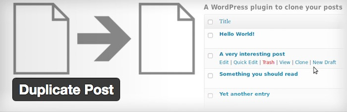 duplicate post wordpress plugin for web development