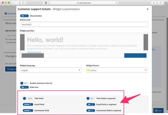 customer support software usersnap