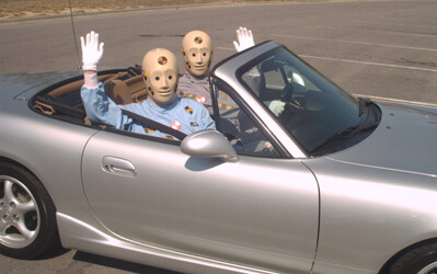 bug tracking mistakes testing dummies car