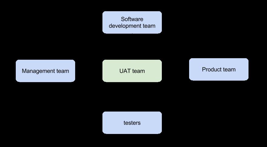 UAT testing team