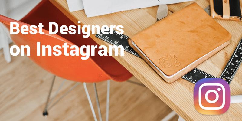 best designers instagram
