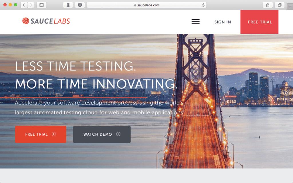 saucelabs browser testing