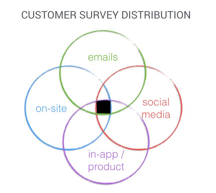 customer survey distribution