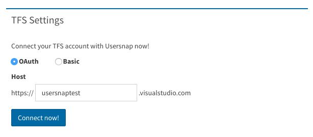 tfs bug tracking settings