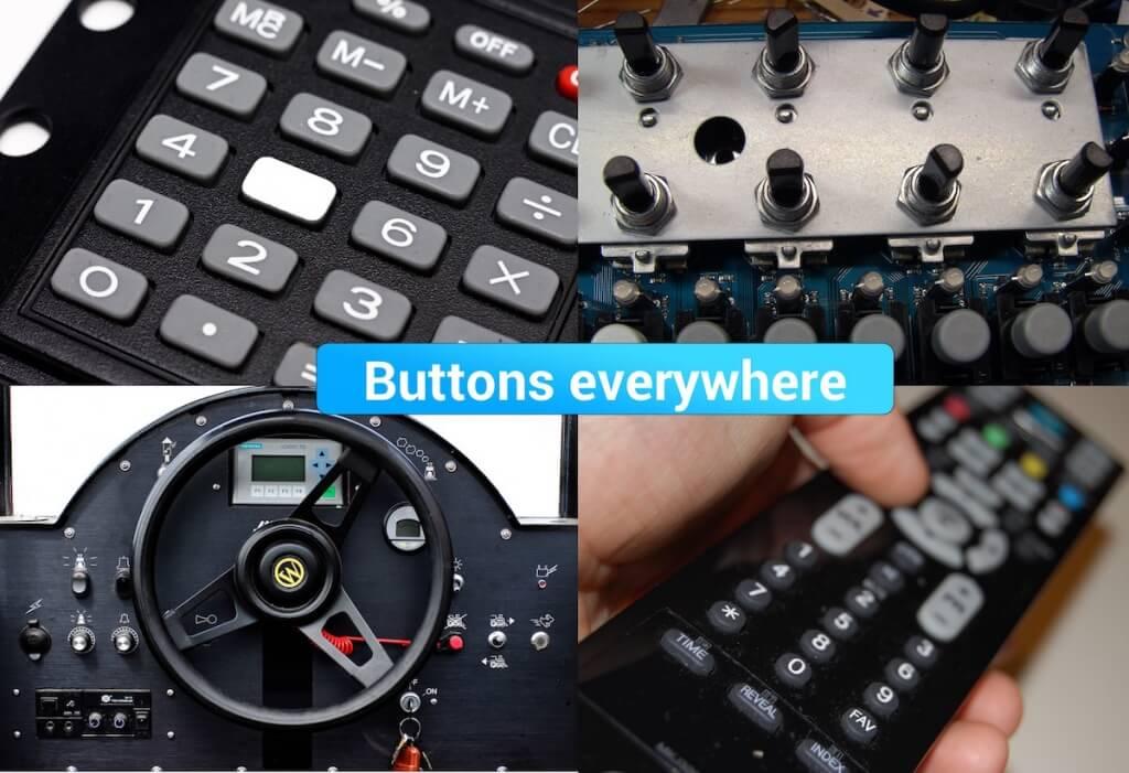 web design buttons