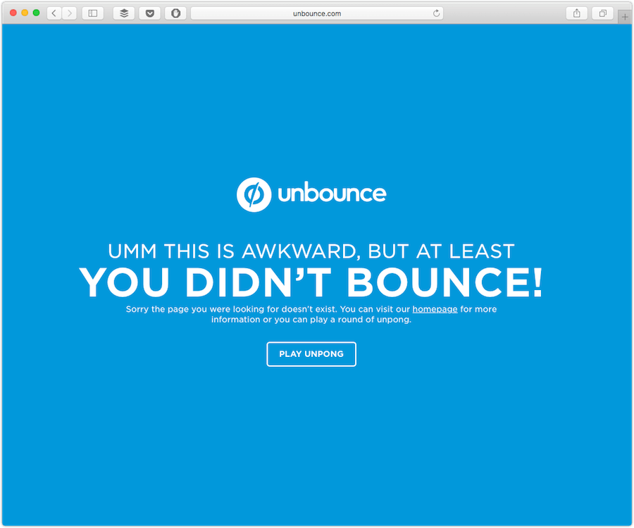 unbounce 404 page