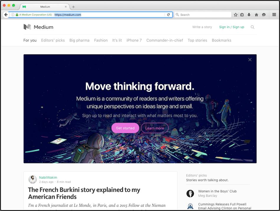 wordpress alternative medium.com