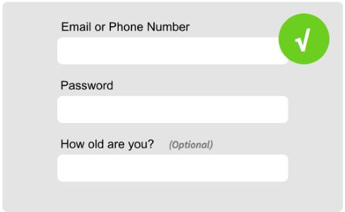 registration form design