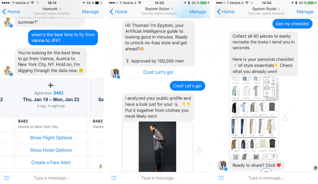 conversational ui design trend 17