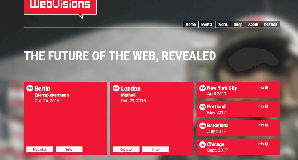 web visions 2017