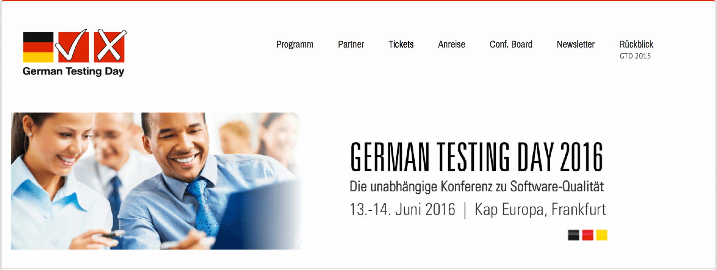 german testing days konferenz
