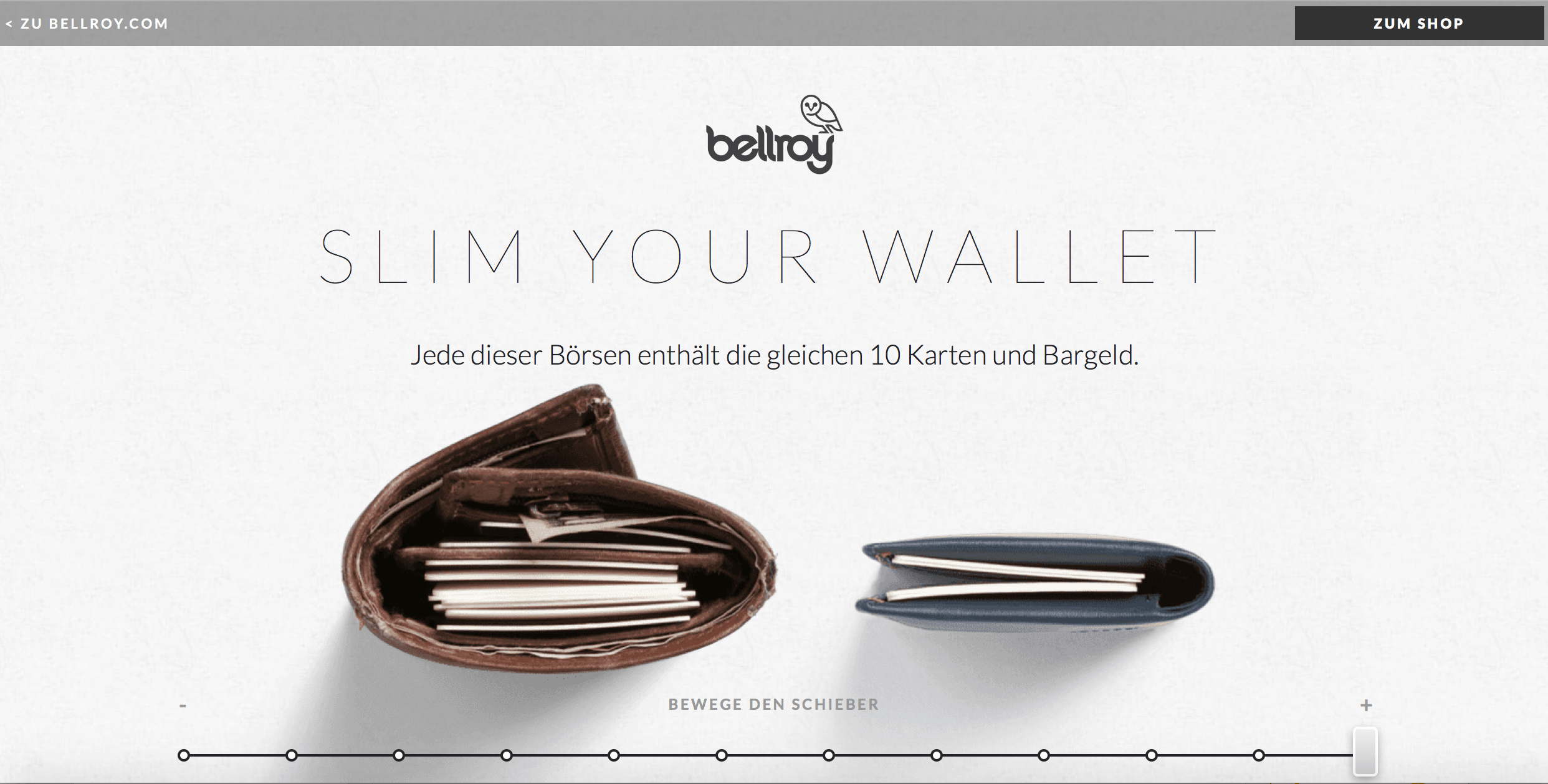 Bellroy Design