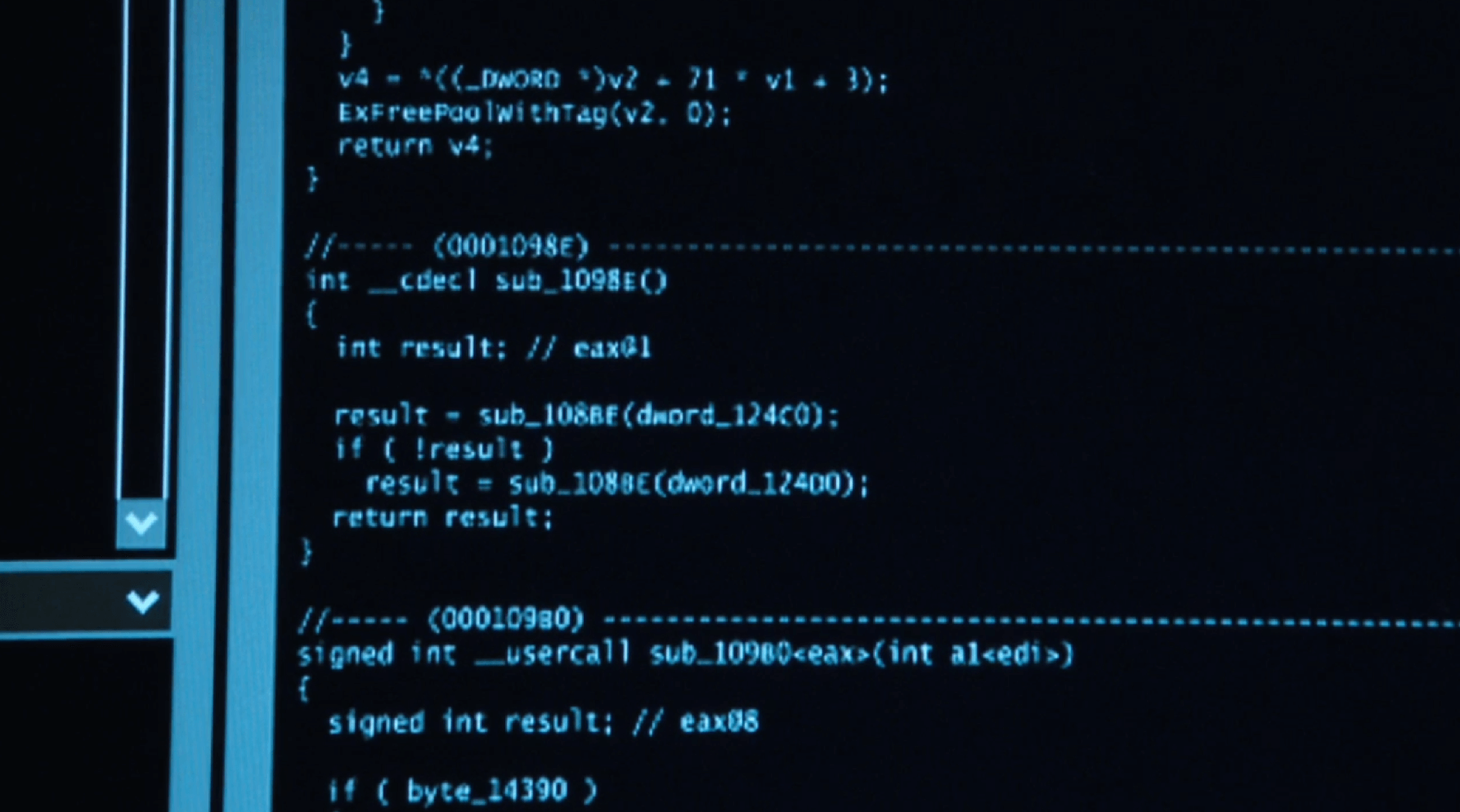 code person of interest