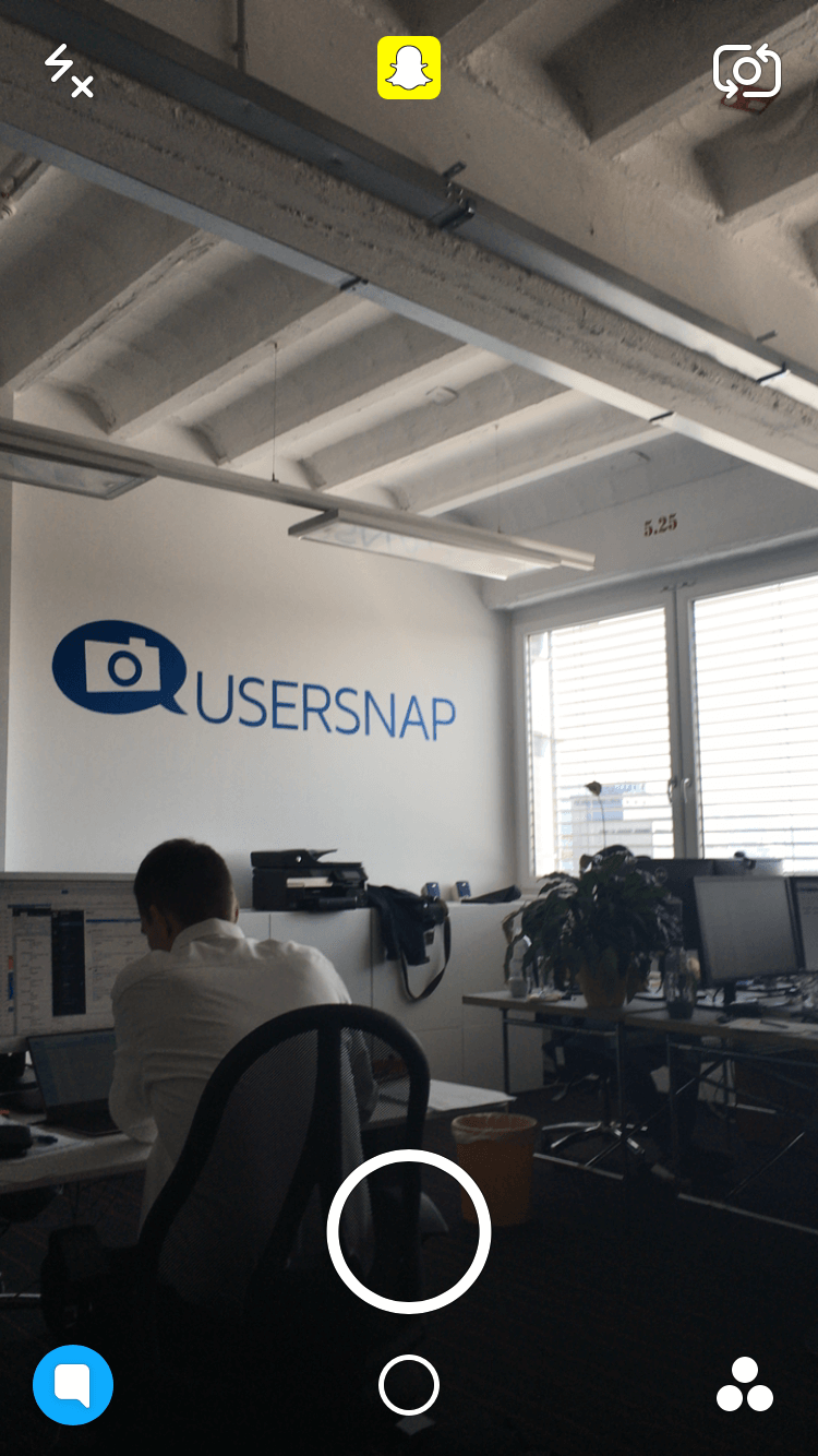 onboarding snapchat