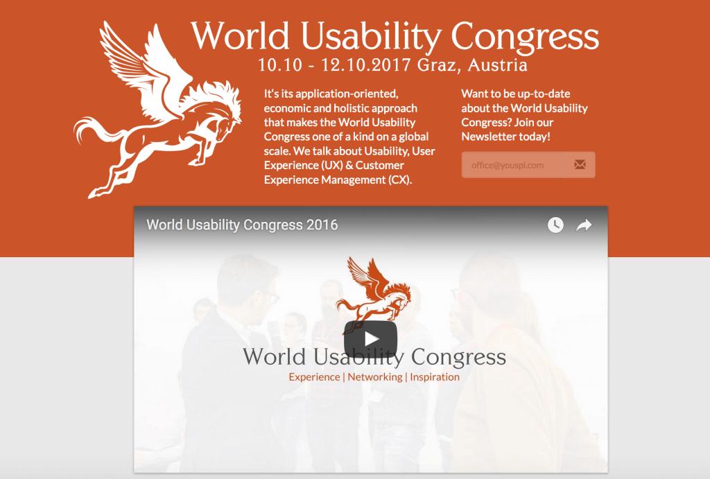 World Usability Congress